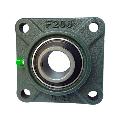 SF1 3/8 (UCF207-22) - 4 Bolt Square Flange Self Lube Unit