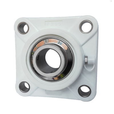 SS-UCF206 Thermoplastic 4 Bolt Square Flange Bearing Unit