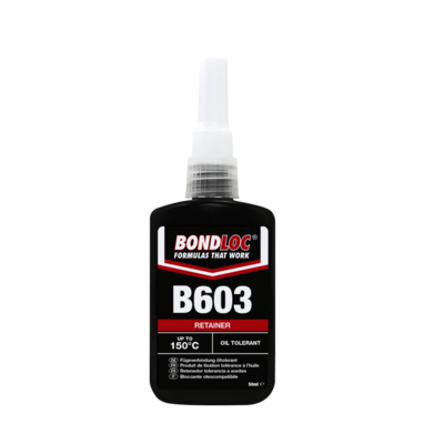 Bondloc B603 Oil Tolerant Retainer 25ml