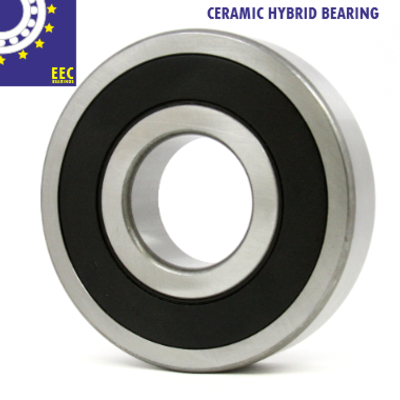 6303 2rs Ceramic Hybrid Ball Bearing 17x47x14 Eec