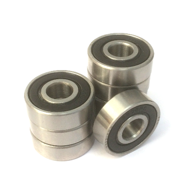 8 Skateboard Bearings Ceramic Hybrid 608 2RS Si3N4 Replacement Bearings