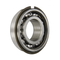 6204 NR Snap Ring Deep Groove Ball Bearing