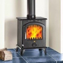 Clarke Carlton 6.5kw Cast Iron Multi Fuel Stove 6909898