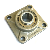 SUCF206 Stainless Steel 4 Bolt Square Flange Bearing Unit