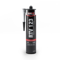 Bondloc RTV123 Silicone Clear 80ml